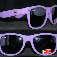 New Rayban Wayfarer Sunglasses Purple RB2140 Ray ban