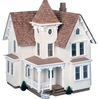 Greenleaf Fairfield Dollhouse Kit - 1/2 Inch Scale | www.hayneedle.com