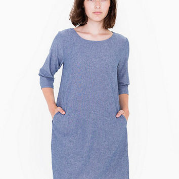 Chambray Pocket Tent Dress