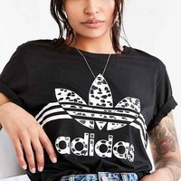 adidas Originals Inked Boyfriend Tee - Black