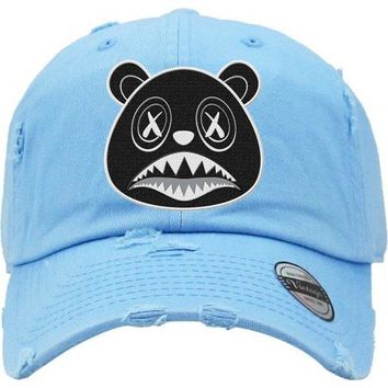 Oreo Baws Carolina UNC Dad Hat