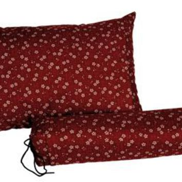 J-Life Sakura Red Buckwheat Hull Pillow