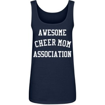 Awesome cheer mom: Creations Clothing Art