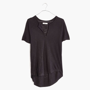 Anthem Split-Neck Tee