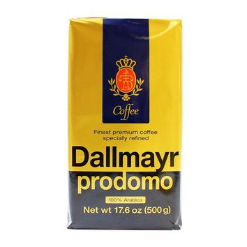 Dallmayr Prodomo Ground Roasted Coffee,  17.6 oz (500g)
