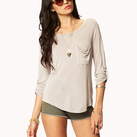 Essential Patch Pocket Top