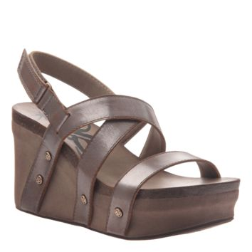 New OTBT Women's Sandals Sail in Pewter