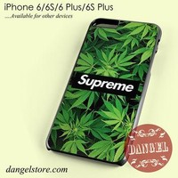 Supreme Weed Phone case for iPhone 6/6s/6 Plus/6S plus