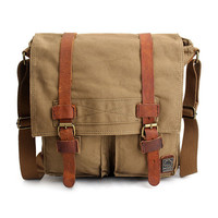 Men Casual Vintage Crossbody Bag Outdoor Sport Travel Shoulder Bag