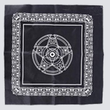 Family Friends party Board game Purple Black 49*49cm Non-woven  Textiles Tarot Table Cover Playing Cards Pentacle Tarot Game Tablecloth AT_41_3