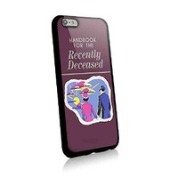 Wallet Beetlejuice Handbook Recently Deceased for Iphone and Samsung Galaxy Case (iphone 6 black)