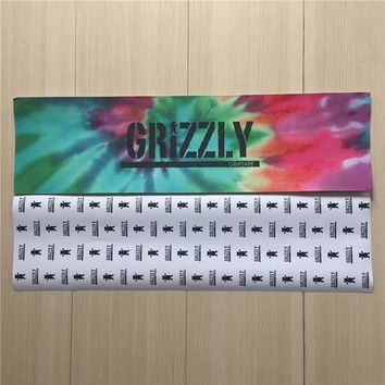 "Grizzly Tie Dye 9""X33"" 84cmx23cm Skateboard Deck Griptape Hard-Wearing Sandpaper"