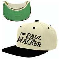 paul walker RIP SNAPBACK HAT