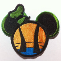 Goofy Inspired Mouse Ear Patch