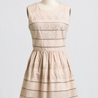 Cape May Embroidered Dress | Ruche
