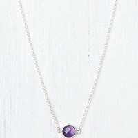 Kris Nations   Birthstone Necklace at Free People Clothing Boutique