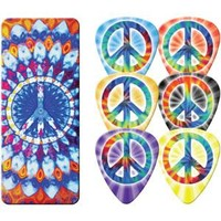 Peace Sign Guitar Pick