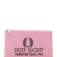 Sassy Society Makeup Bag