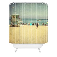 Shannon Clark California Dreamin Shower Curtain