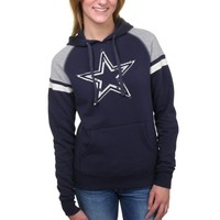 Dallas Cowboys Women's Navy Blue Jubilee Pullover Hoodie