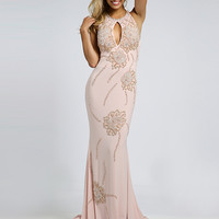 Pink Jersey Gown