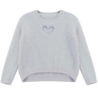 Asymmetric Knitted Sweater