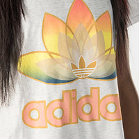 Women's Adidas Lotus Foil T-shirt | Finish Line