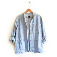OVERSIZED DENIM JACKET from GET HIGH WAISTED