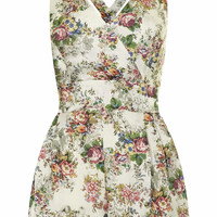 **CROSSOVER PLAYSUIT BY LOVE