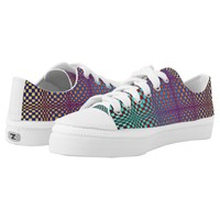Abstract Squares 3 Low-Top Sneakers