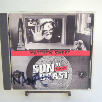 Matthew Sweet Son of Altered Beast CD Vintage Used Pop Music Indie Alternative Rock Pop