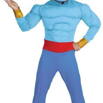 Genie Muscle Chest Adult costume 2017