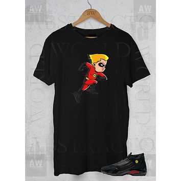 The Incredibles 2 Last Shot Jordans 14s Adult Unisex T Shirt