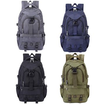 22.1L Outdoor Hiking Traveling Camping Backpack Military Tactical Bag Trekking Rucksack Arch back Interlayer Backpack
