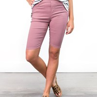 Natalie Stretchy Bermuda Shorts