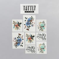 Tattly™ Designy Temporary Tattoos. — Lovely Set