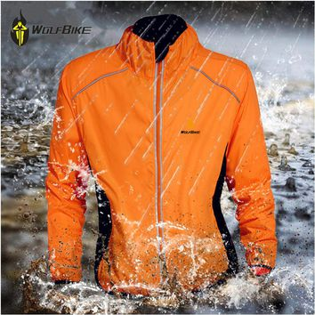 WOLFBIKE Wind MTB cycling jacket men 5 colors Professional anti-repellent breathable Coat Jerseys Windbreak Bicycle Jackets