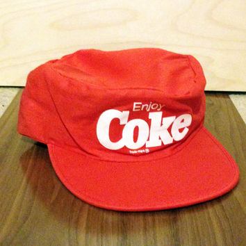 Snapback Hat, Vintage Hat, Baseball Hat, Mesh Hat, Trucker Hat, Fitted Hat, Coke Cola