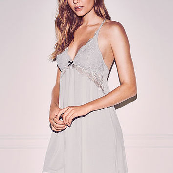 Supersoft Lace-trim Slip - Body by Victoria - Victoria's Secret