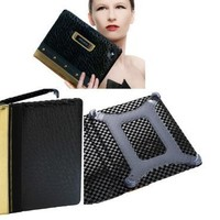 BLOW OUT SALE !!! Luxury Designer maroo AVANTE for iPad 2, 3 case by SETH AARON famous british Designer genuine leather