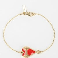 Urban Outfitters - MariaFrancescaPepe Broken Heart Chain Bracelet