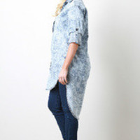Boyfriend Chambray Top