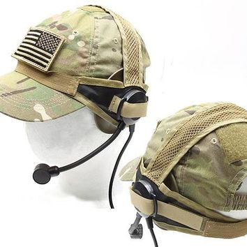 Tactical Headset Army Military Airsoft Hunting Headset  Outdoor Headphone Element ZT Gear Free Shipping