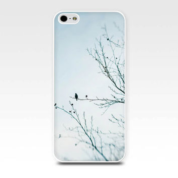 iphone 5s case birds iphone 6 case winter iphone case 4s birds in a tree iphone 5 case nature iphone case 4 pastel blue girly iphone case
