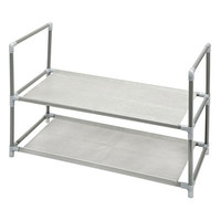 2 Tier Plastic Shoe Rack