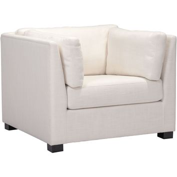 Hayden Arm Chair, Beige