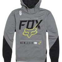 Fox Bolt Shift Fleece Hoodie - Mens Hoodie - Black
