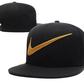 DCCKUNT Fashion Nike Embroidered Mesh Adjustable Outdoor Baseball Cap Hats