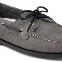 Sperry Top-Sider Authentic Original Echo 2-Eye Boat Shoe Gray, Size 12M  Men's