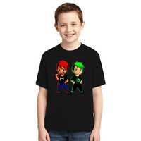 Markiplier And Jacksepticeye Youth T-shirt